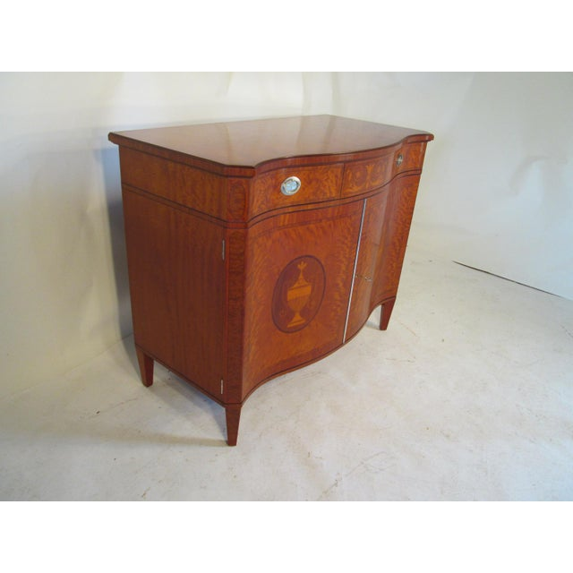 Traditional 1940s Vintage Schmieg and Kotzian Satinwood Chest For Sale - Image 3 of 12