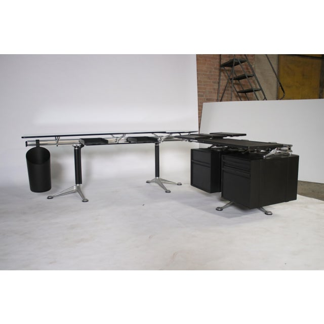 1980s Bruce Burdick Executive Desk for Herman Miller For Sale - Image 5 of 12