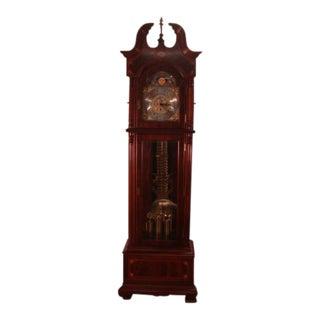 Ridgeway Mahogany Statue of Liberty Limited Edition Grandfathers Clock