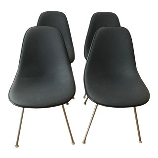 1970s Vintage Eames Herman Miller Padded Chairs- a Pair For Sale
