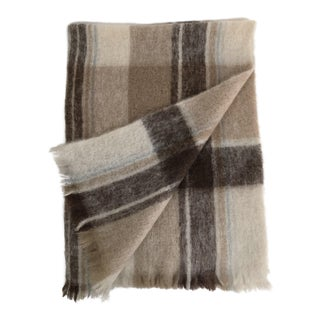 Vintage Australian Mohair Throw