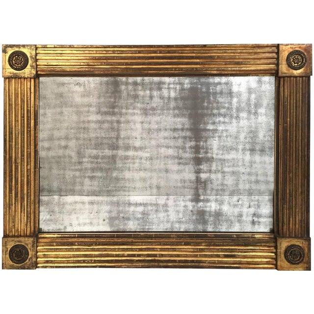 American Classical Giltwood Mirror, circa 1820-1840 For Sale