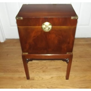 20th Century English Traditional Mahogany Wine Cellarette Preview