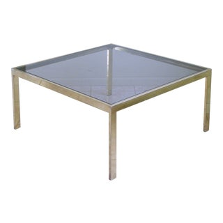 Mid Century Modern Coffee Table by Milo Baughman for Design Institute of America For Sale
