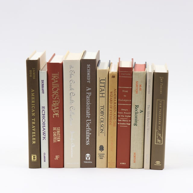 Warm Spice Book Bundle For Sale - Image 4 of 4