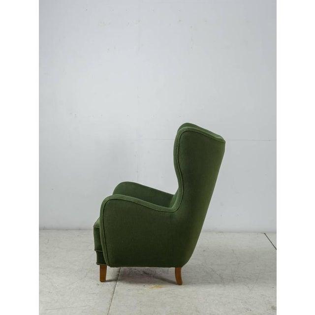 Mogens Lassen Style Lounge Chair, Denmark, 1940s - Image 4 of 10