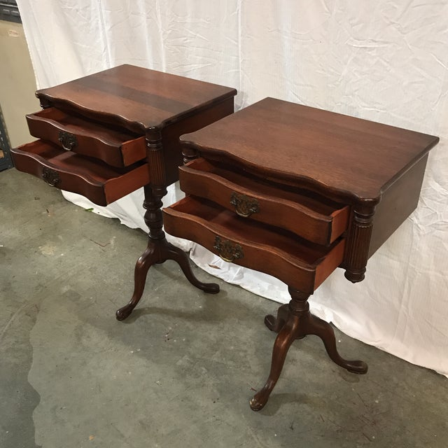 Duncan Fyfe Style Library Tables - A Pair For Sale - Image 4 of 9