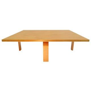 Rare Poul Kjærholm Pk66 Coffee Table For Sale
