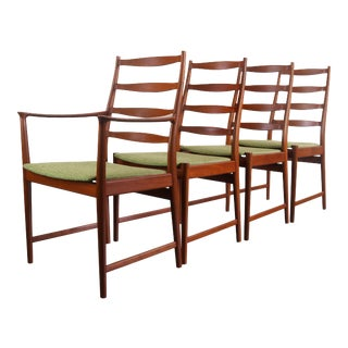 Mid Century Danish Modern Torbjorn Afdal for Vamo Dining Chairs- Set of 4 For Sale