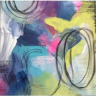 """Cosmos"" Original Mixed Media Painting"