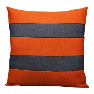 Handmade Artisan Cotton Pillow With Insert For Sale