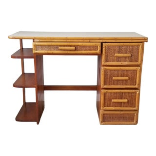 1970s Paul Frankl Style Desk For Sale