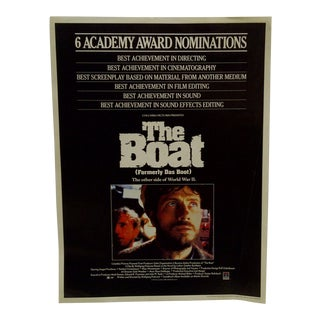 """The Boat"" (Das Boot)"" Movie Poster For Sale"