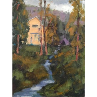 Amador Creek Plein Air Oil Painting For Sale