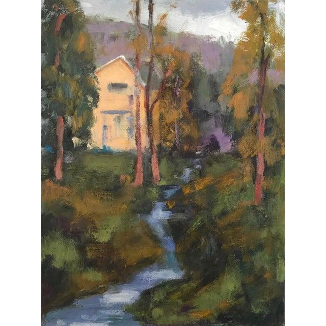 Amador Creek Plein Air Oil Painting For Sale