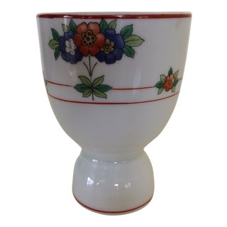 Vintage Floral Egg Cup For Sale