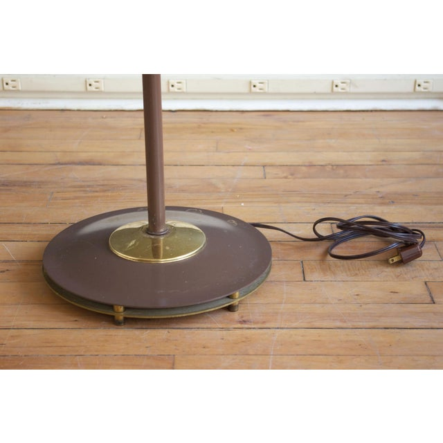"""Lightolier Gerald Thurston for Lightolier """"Triennale"""" Style Floor Lamp For Sale - Image 4 of 5"""