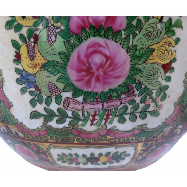 Vintage Asian Goldfish Bowl - Image 8 of 9