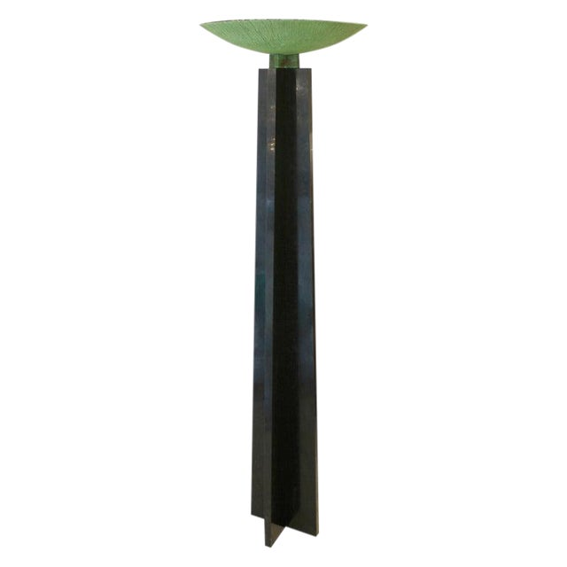 Floor Lamp Model 'Wagneriana' by Lella and Massimo Vignelli For Sale