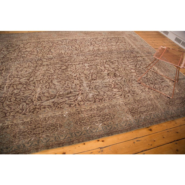 """Distressed Vintage Oushak Carpet - 8'8"""" x 11'8"""" For Sale In New York - Image 6 of 7"""