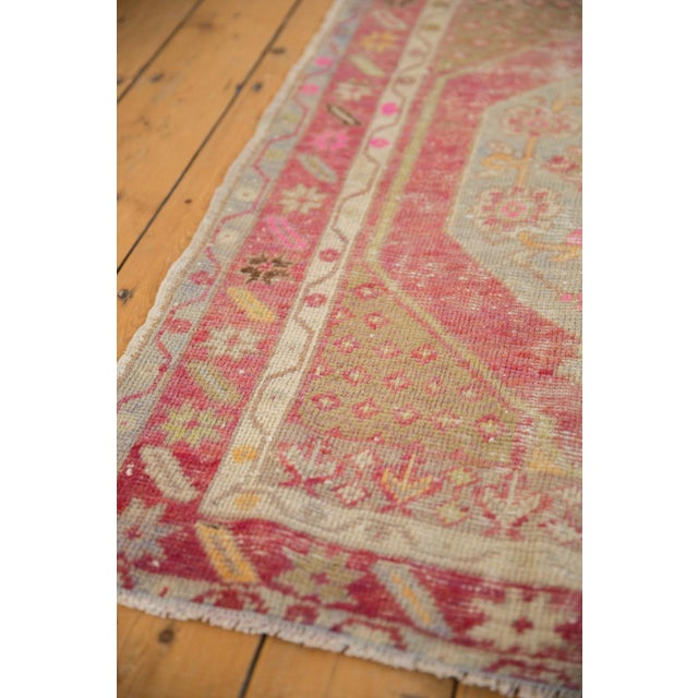 "1940s Vintage Distressed Oushak Rug - 2'9"" X 3'11"" For Sale - Image 5 of 9"