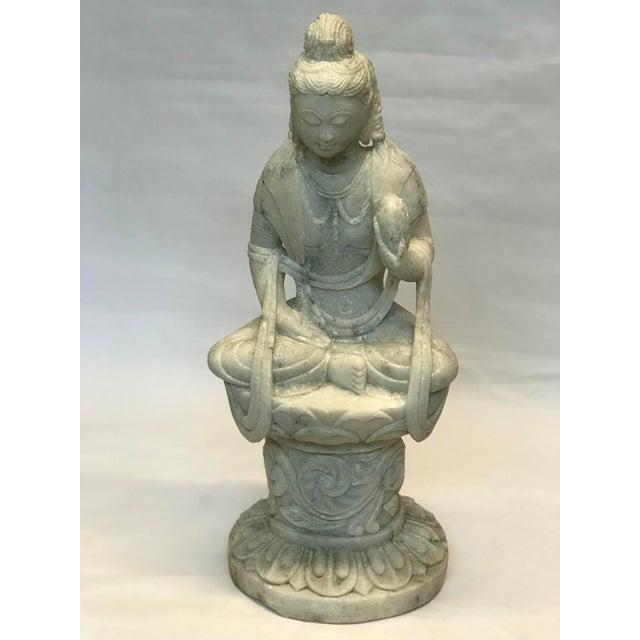 Marble Decorative Buddha Figure - Image 3 of 3
