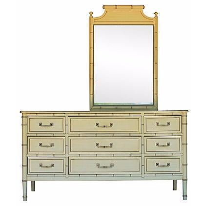 Henry Link Bamboo-Style Dresser - Image 1 of 10