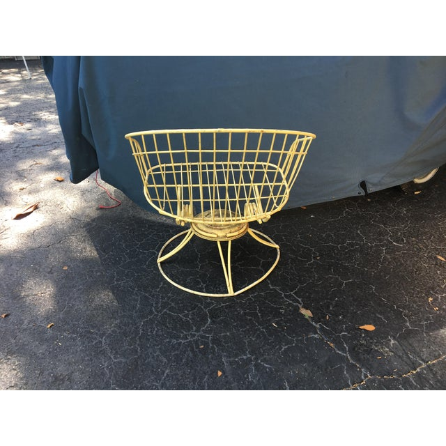 Mid-Century Metal Bouncer Chairs - A Pair - Image 4 of 4