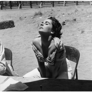 Elizabeth Taylor Black & White Photograph