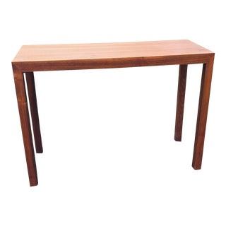 1970s Milo Baughman Parsons Console Table For Sale