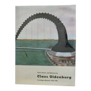Claes Oldenburg: Catalogue Raisonné Book For Sale