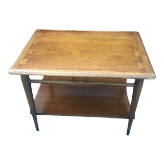 Lane Acclaim Mid 20th Century Dovetail Side Table For Sale