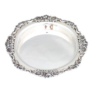 Wallace Baroque Champagne/Wine Coaster For Sale