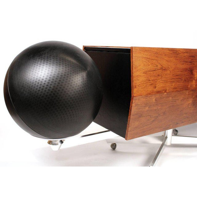 Hugh Spencer Clairtone Project G-1 Model T10 Rosewood Stereo System For Sale - Image 4 of 11