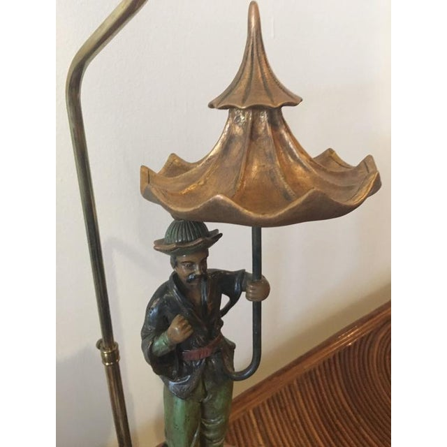 Chinoiserie Pagoda Oriental Table Lamp For Sale In West Palm - Image 6 of 10