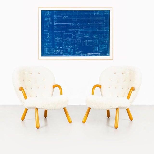 Mies Van Der Rohe Blueprint, Crown Hall, Chicago, 1954, North Platform For Sale - Image 9 of 13