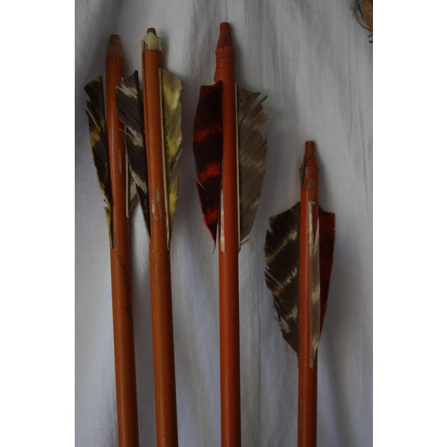 Vintage Toy Bow & Arrows Set - Image 3 of 5