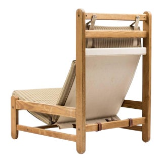 Scandinavian Architectural Lounge Chair For Sale