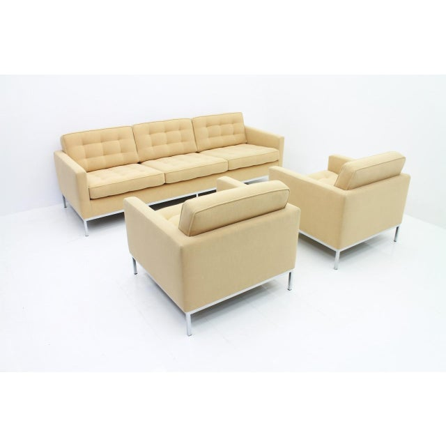 Florence Knoll Lounge Chairs for Knoll International For Sale - Image 9 of 10