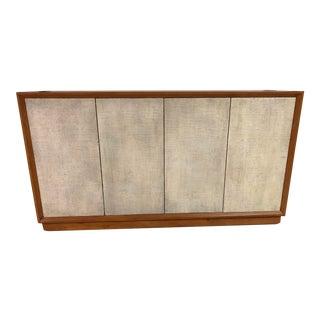 Scandinavian Modern Wooden Sideboard