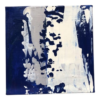 """Final Price Before Deactivation! Nancy Smith """"The Spill"""" Original Abstract Acrylic Painting For Sale"""