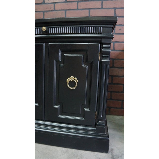 Paint Drexel Heritage French Regency Nightstands - A Pair For Sale - Image 7 of 9