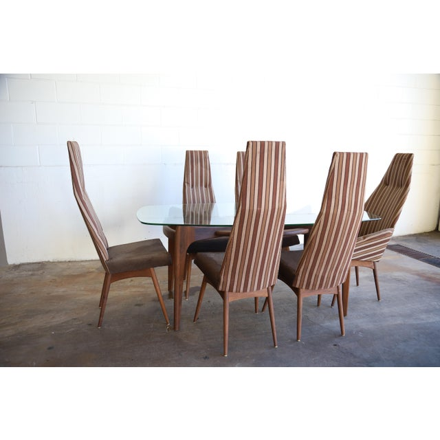 Craft Associates Adrian Pearsall Dining Set Table & Chairs - 7 Pieces For Sale - Image 4 of 13