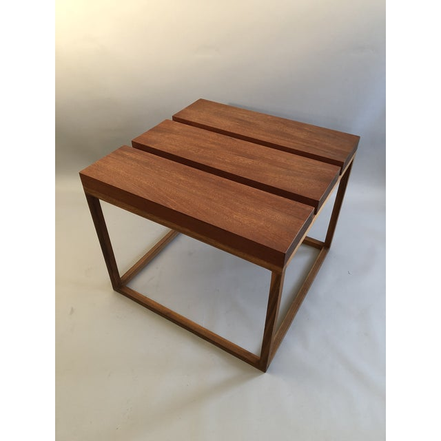 Robert Bristow 3 Block Table For Sale - Image 9 of 9