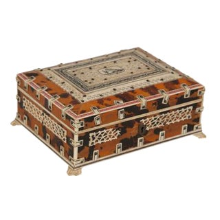 19th Century Anglo Indian Box For Sale