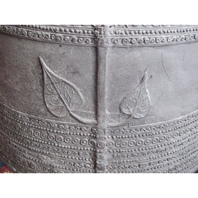 Se Asian Dong-Son Bronze Rain Drum Table - Image 8 of 10