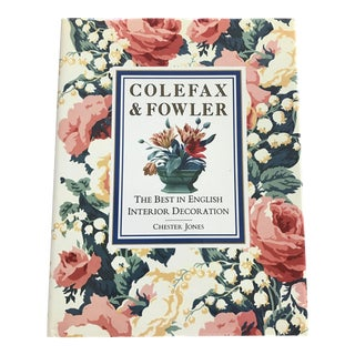 Colefax and Fowler: The Best in English Interior Decoration Book