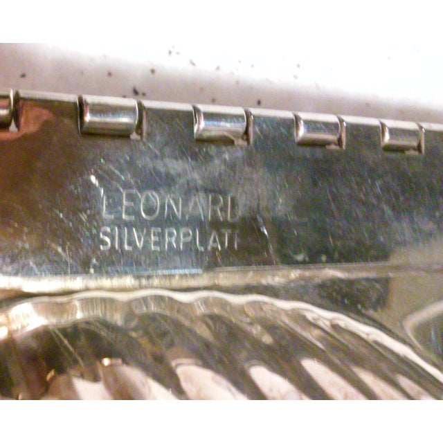 Silverplated Swan Lidded Serving Dish For Sale - Image 10 of 10