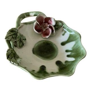 1960s Vintage Sculptural Ceramic Tray For Sale