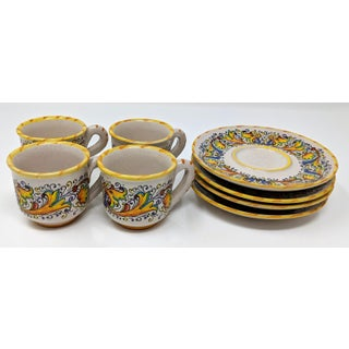 Demitasse Cup & Saucer Set - Service for 4 Preview